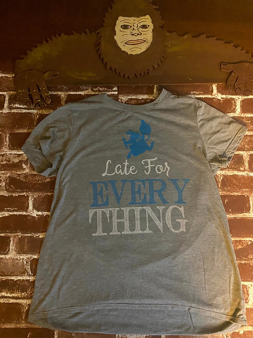 Disney: Late For Everything Tee