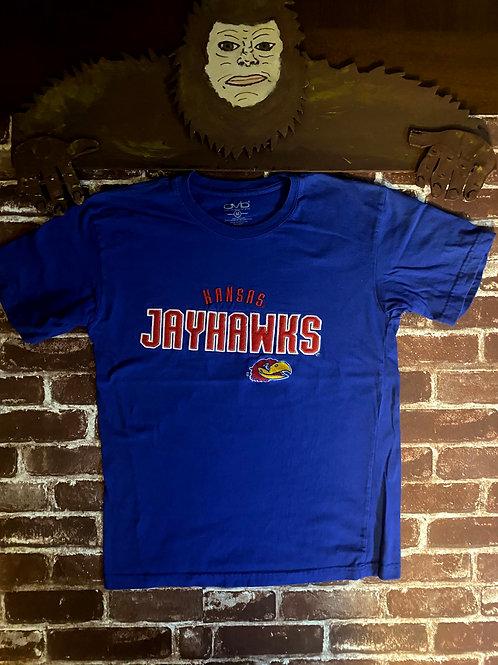 Old Varsity Brand Kansas Jay Hawks Tee