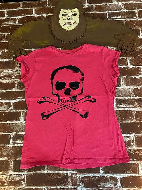 Pink Skull Tee