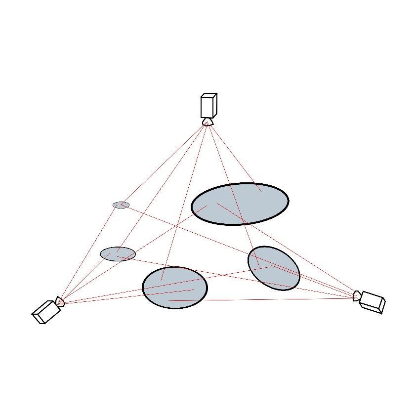 Калибровка системы камер в условиях неполноты информации о координатах калибровочных маркеров