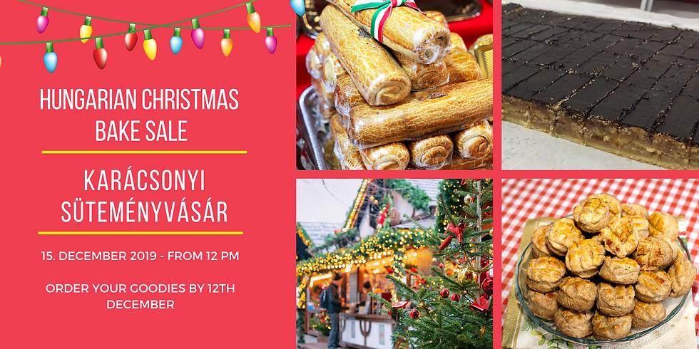Karácsonyi vásár és ebéd / Christmas Bake Sale & Lunch