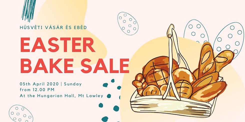 Húsvéti vásár és ebéd / Easter Bake Sale and Lunch