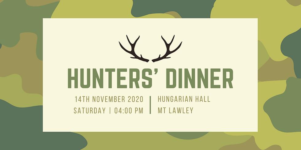 Vadász vacsora és diszkó / Hunter's Dinner and Disco