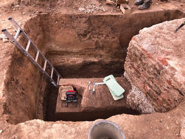 Archäologische Ausgrabung Kaiserin Augusta Schule, Köln