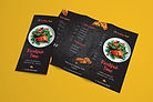 Same day printing menus in London, UK.