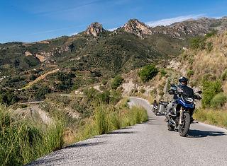 Andalsuien | Motorradurlaub Motorradreise Motorradtour |BMW KTM Yamaha |Driving Area Wesendorf