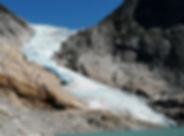 Briksdalsbreen-Gletscher