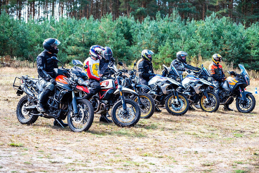 Enduro Training BMW KTM Yamaha Driving A