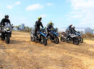 Driving Area Enduro BMW KTM