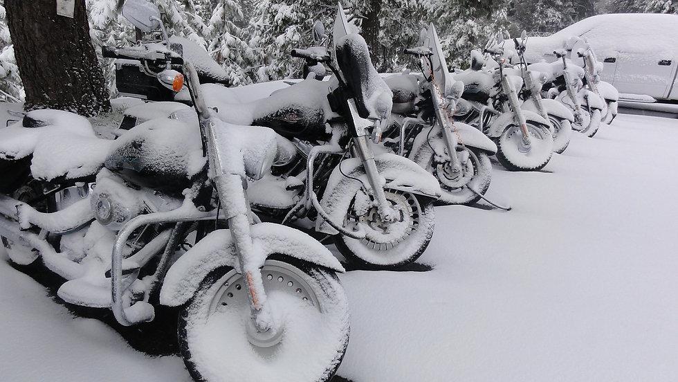 Winterhotel Motorrad Driving Area