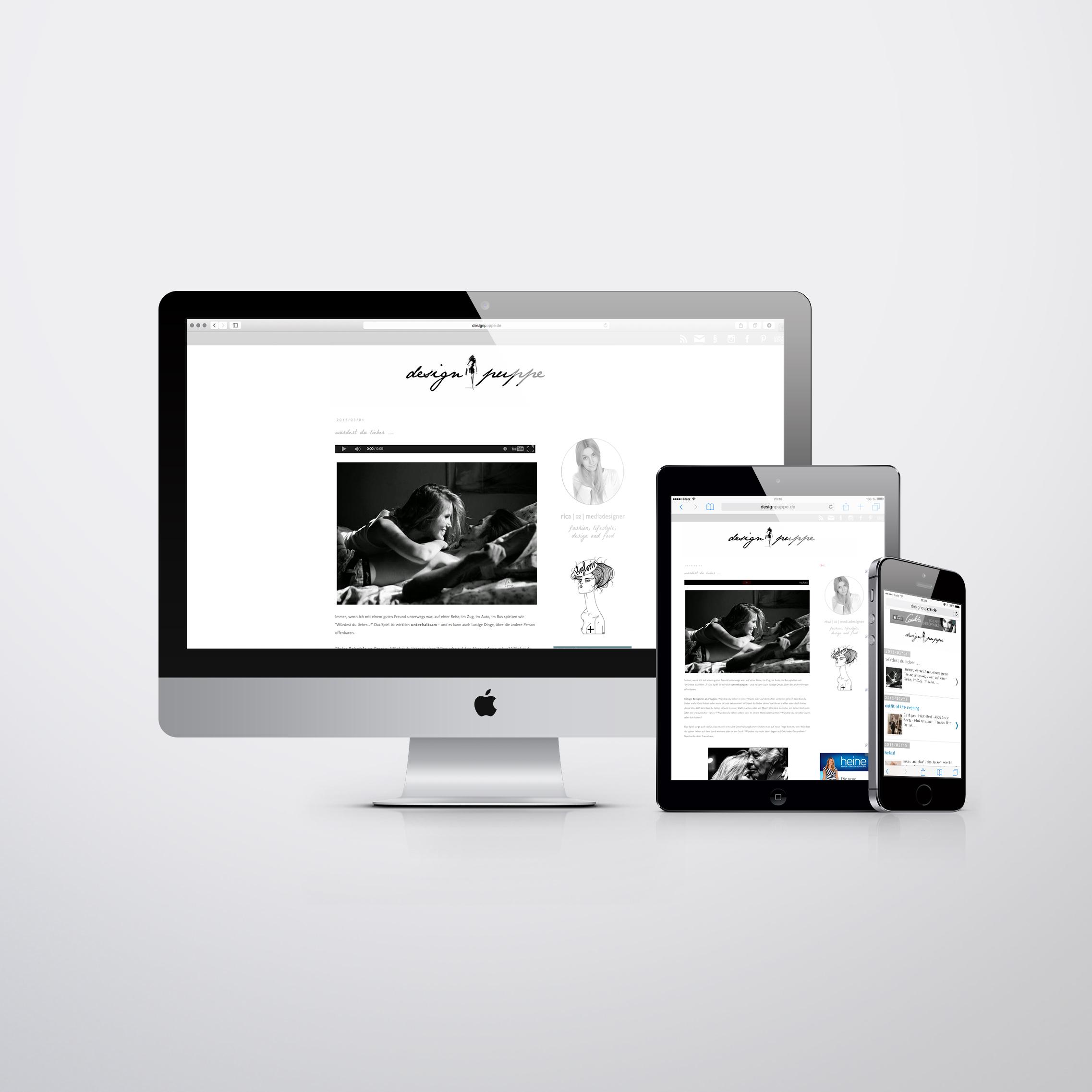 Designpuppe Blog