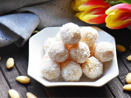 Zdravé kokosové rafaelo