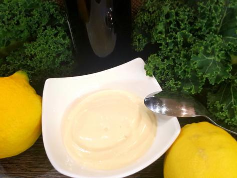 Domácí veganská majonéza bez vajíček a minimem oleje