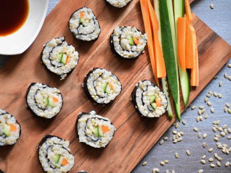 Moje super zdravé sushi