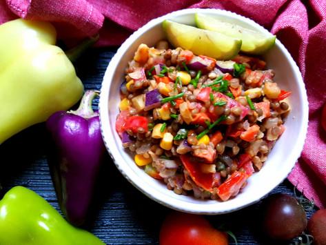 Premium: Indický čočkový salát