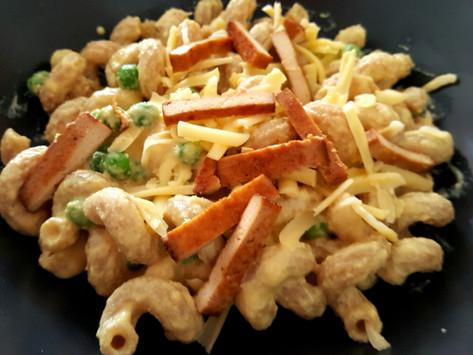 Premium: Veganské špagety carbonara