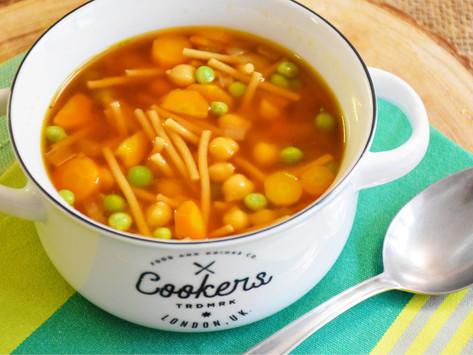 Premium: Nudlová miso polévka s cizrnou