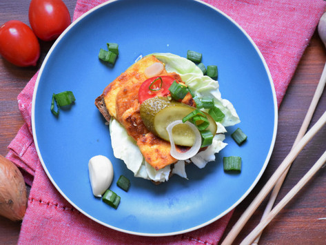 Premium: Tofu slanina na opečeném chlebu