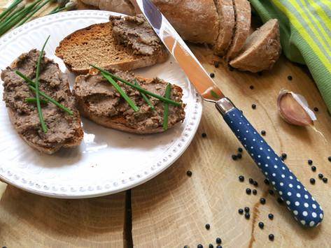 Bezjátrová paštika á la foie gras