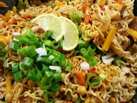 Bleskové thajské nudle – večeře za 8 minut