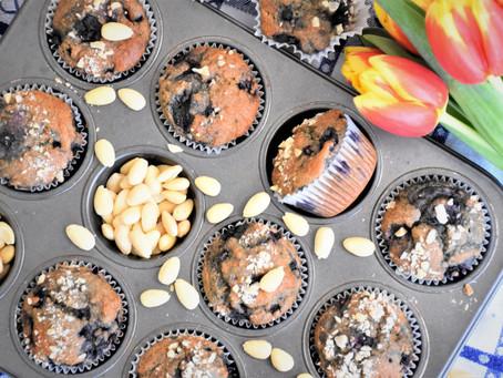 Citrónovo-borůvkové muffiny