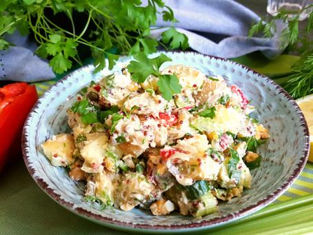 Texaský bramborový salát