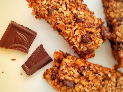 Výborné a snadné čokoládové flapjacky