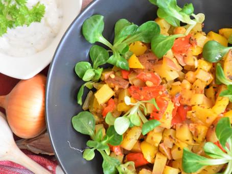 Premium: Snadné bramborovo-česnekové sabzi