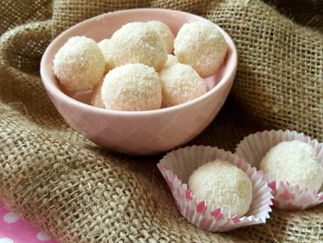 Premium: Zdravé kokosové rafaelo