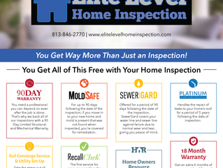 Included With Every Full Home Inspection