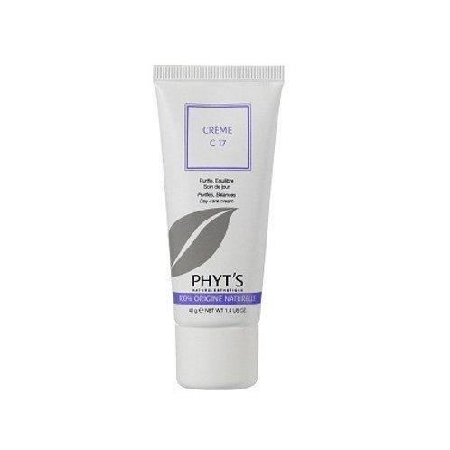 Crème peaux grasses C17 Bio - 40 g - Phyt's