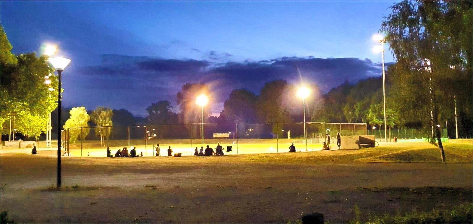 Freundschaftsspiel Dortmund Wanderers vs. Ennepetal Raccoons