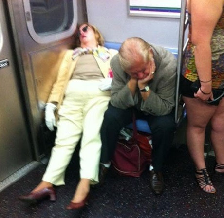 8/15/20 - Asleep on the Train
