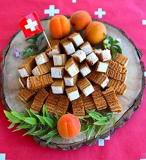 Édition limitée suisse. K'Apples aux abricots du Valais et herbes alpines.