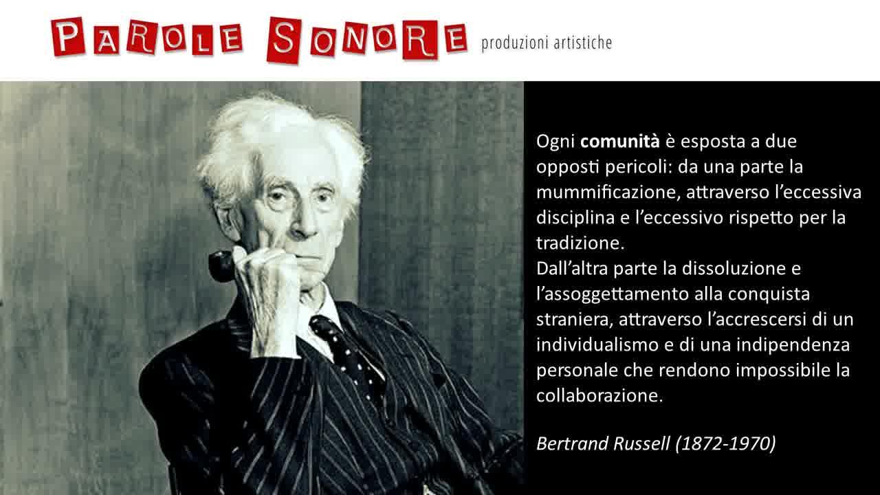 Comunità - Bertrand Russell