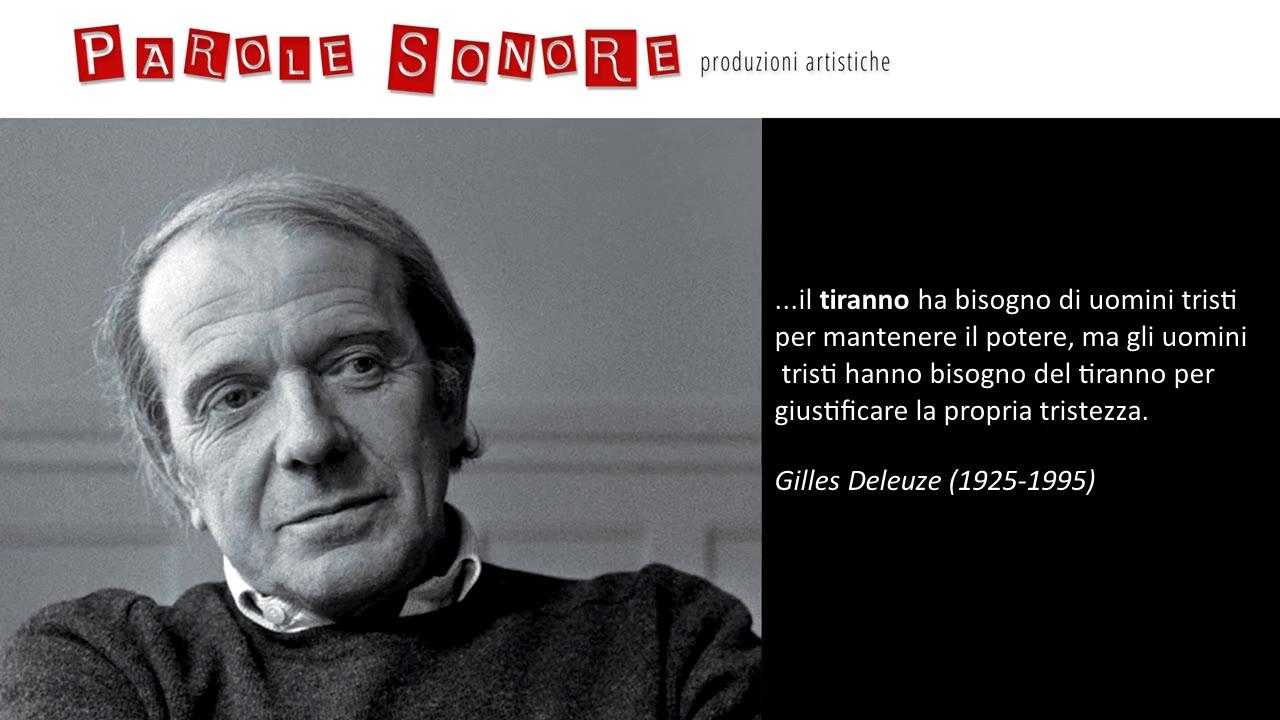 Uomini tristi - Gilles Deleuze