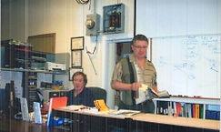 Vagif Abil in the classroom