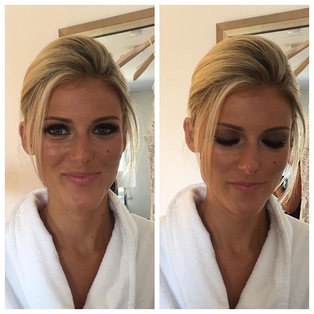 lovely bridesmaid 😍 •_•_#instabeauty #makeup #makeupartist #boston #mua #love #instagood #lashtips