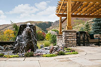 Landscaping water features Colorado