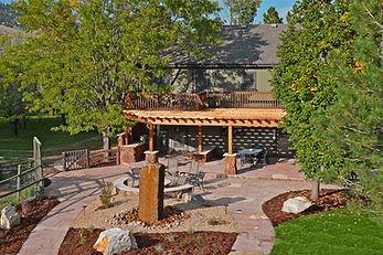 Outdoor living spaces Colorado