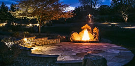 Landscaping fire features Colorado