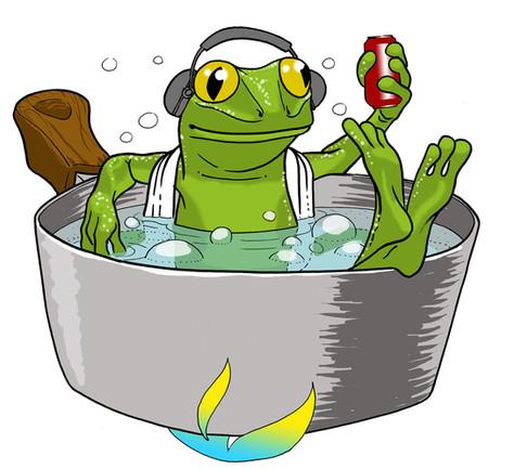 La grenouille, l'eau qui chauffe et la vie qui passe