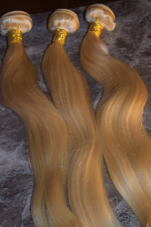 613 Blonde Mink Hair Bundle