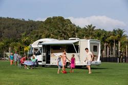 Caravan air-conditioning