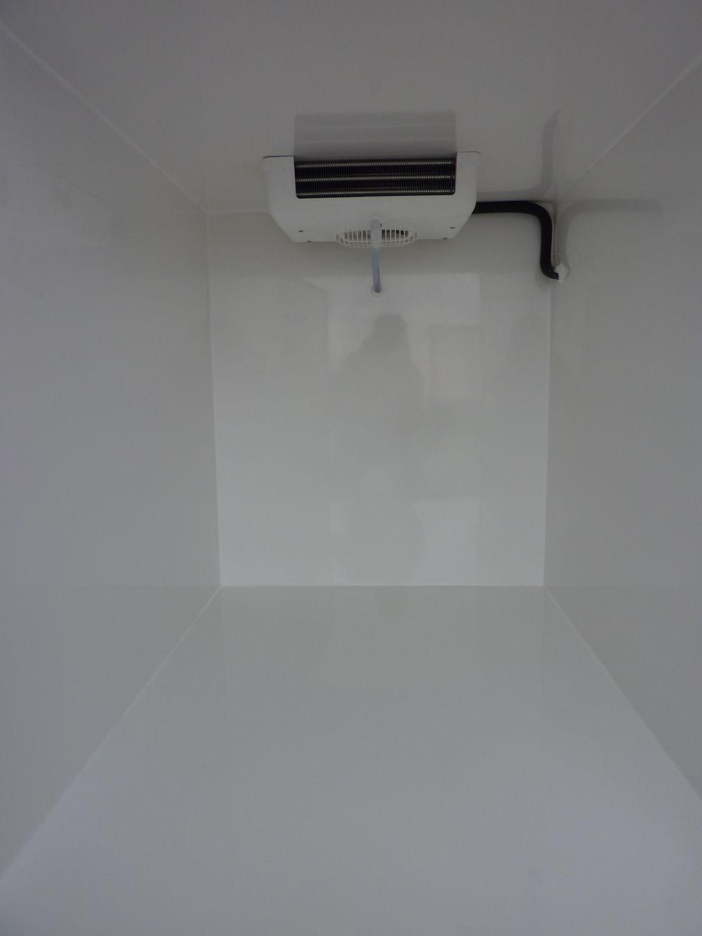 pose caisson frigorifique