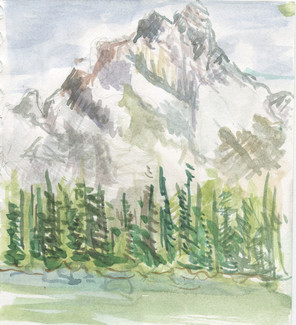 """""""Cathedral Mountain"""""""