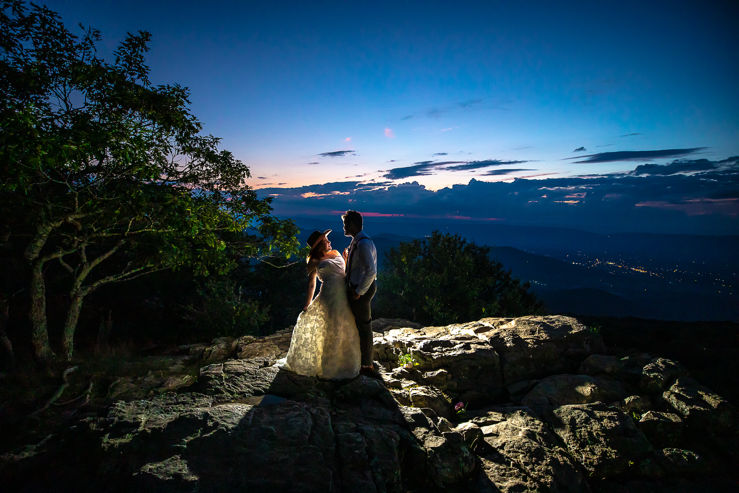 skyline drive wedding 2-3