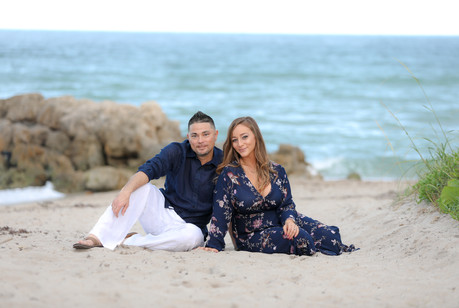Deerfield Beach Engagement and Family Photography Sessions