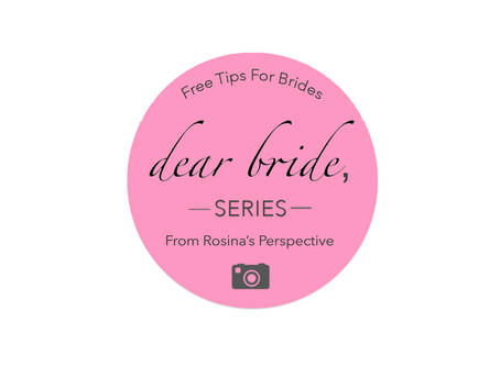 Dear Bride Series: What It's All About