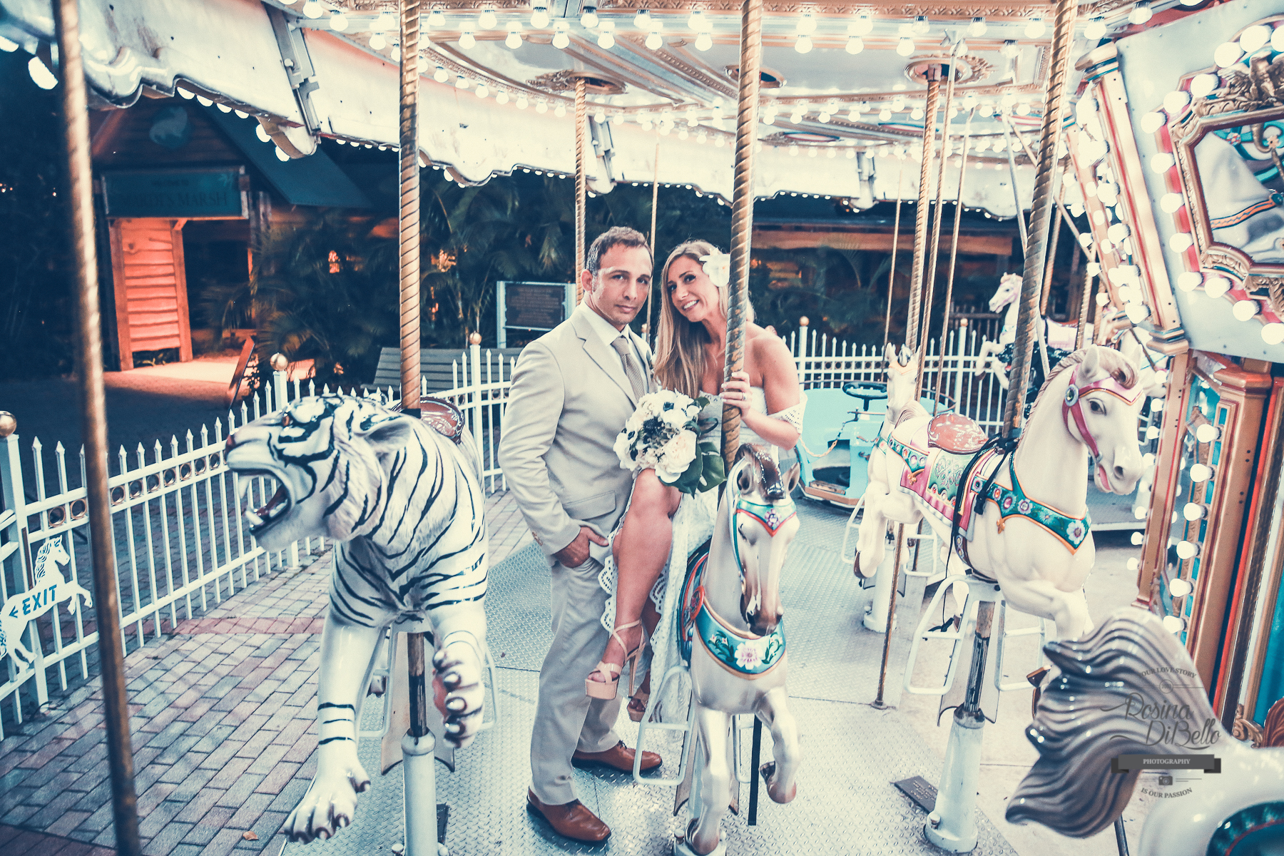 palm beach zoo wedding Rosina